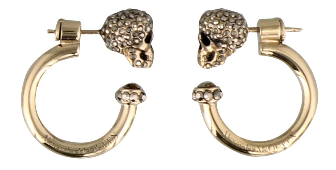 Alexander Mcqueen Skull Earrings