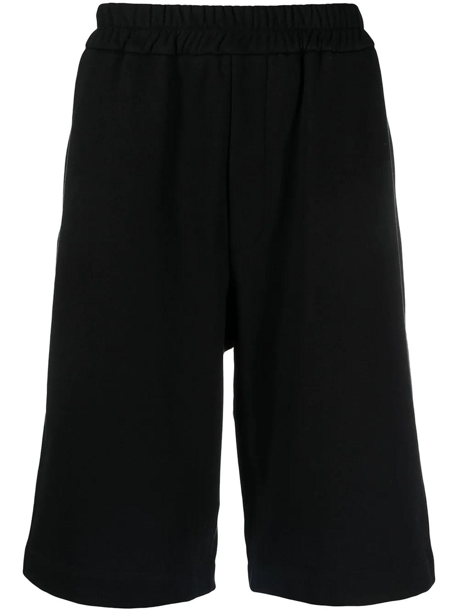 Jil Sander Black Cotton Shorts