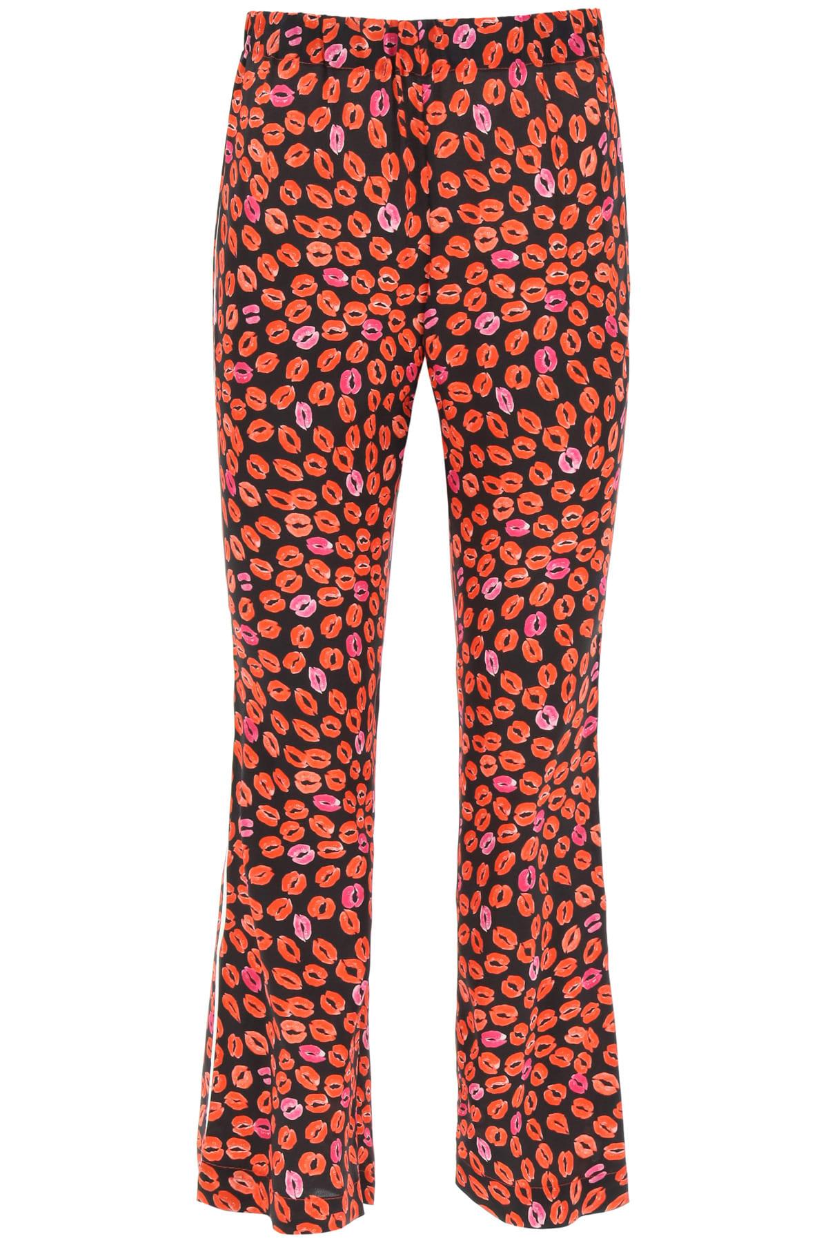 Kiss Print Pajama Trousers