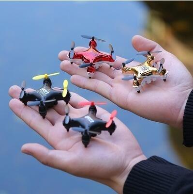 夯貨折扣! 手錶無人機 迷妳小型黑科技手錶無人機專業高清航拍四軸遙控飛機玩具飛行器