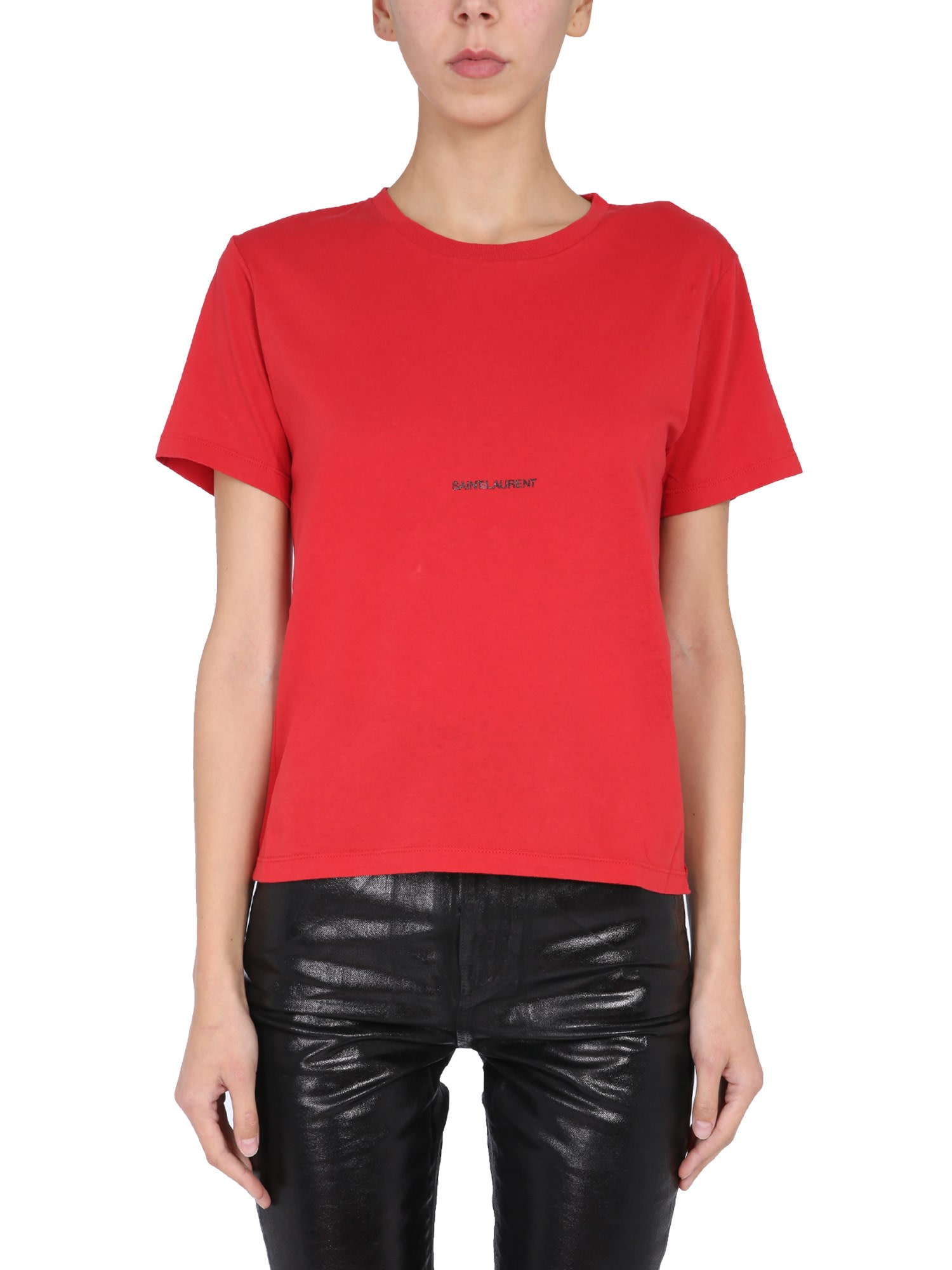 Saint Laurent Crew Neck T-shirt