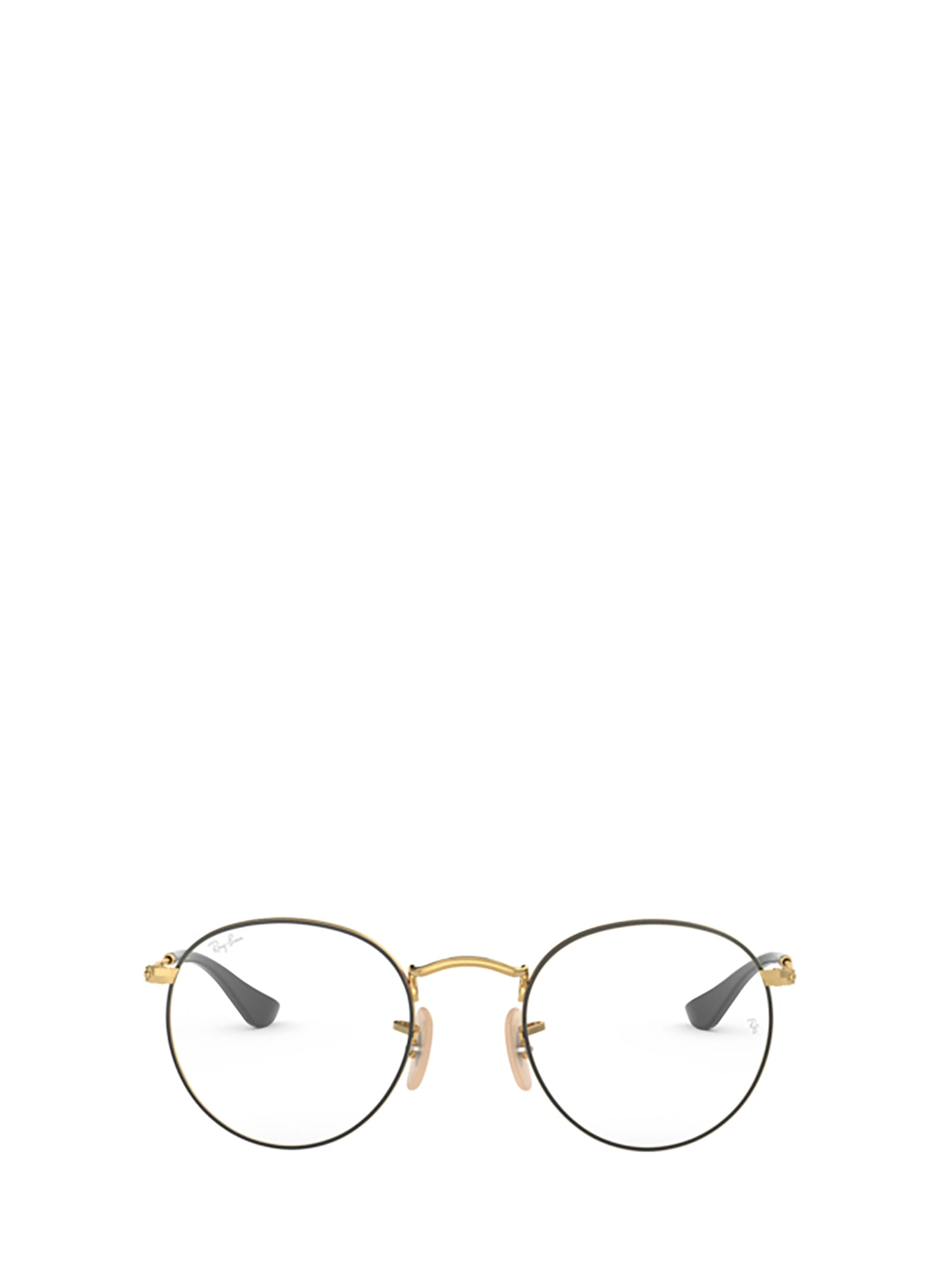 Ray-Ban Ray-ban Rx3447v Gold On Top Black Glasses
