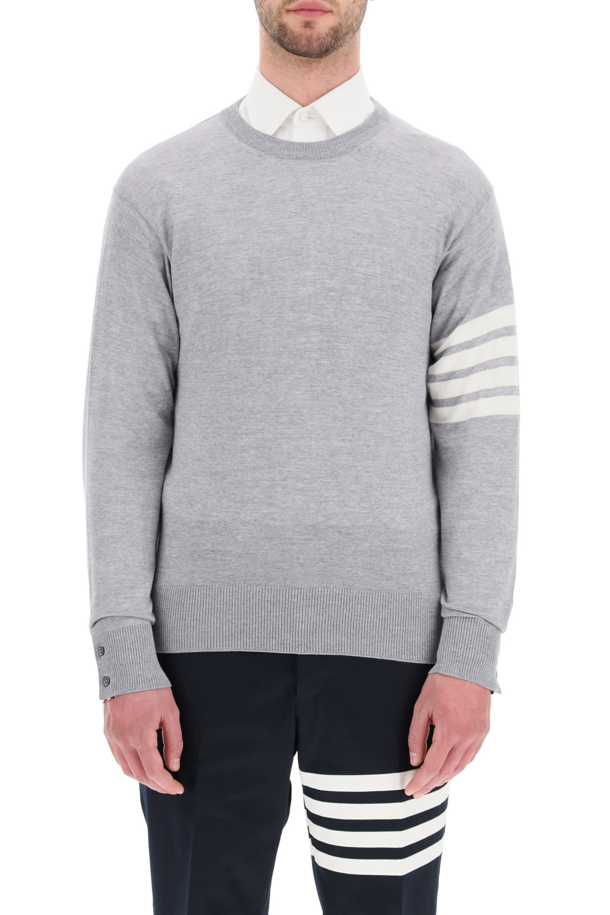 Thom Browne 4-bar Sweater