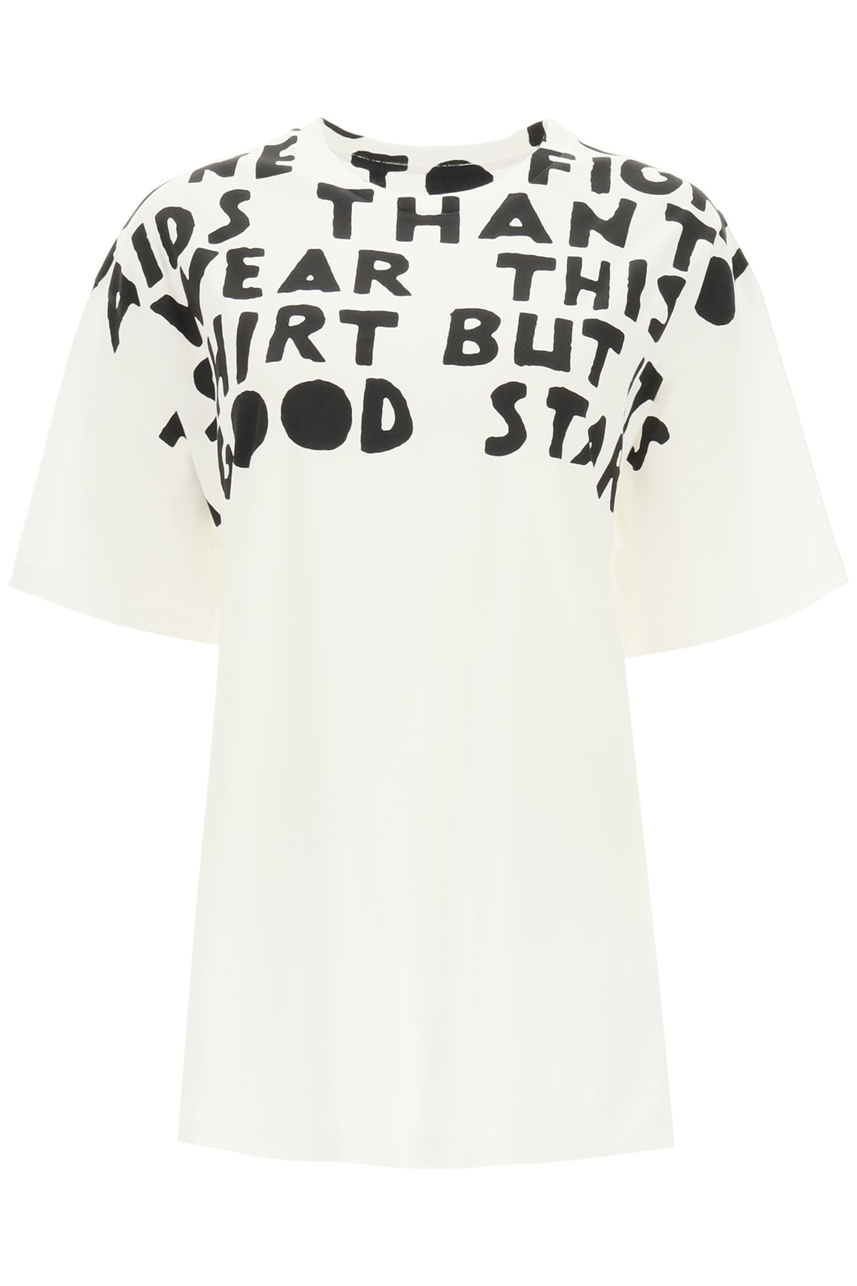 Maison Margiela Slogan Print T-shirt