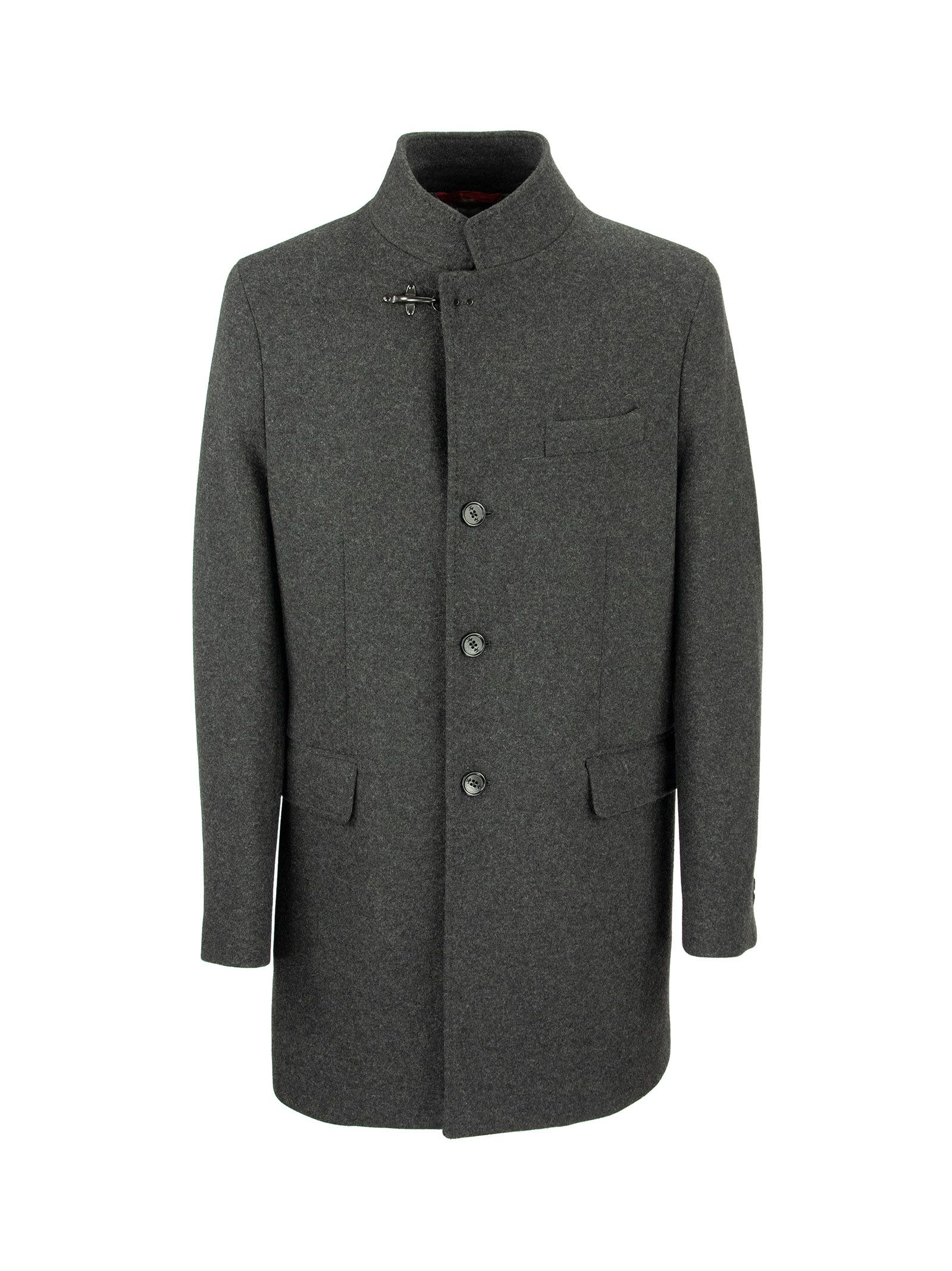 Fay Duty Wool Coat