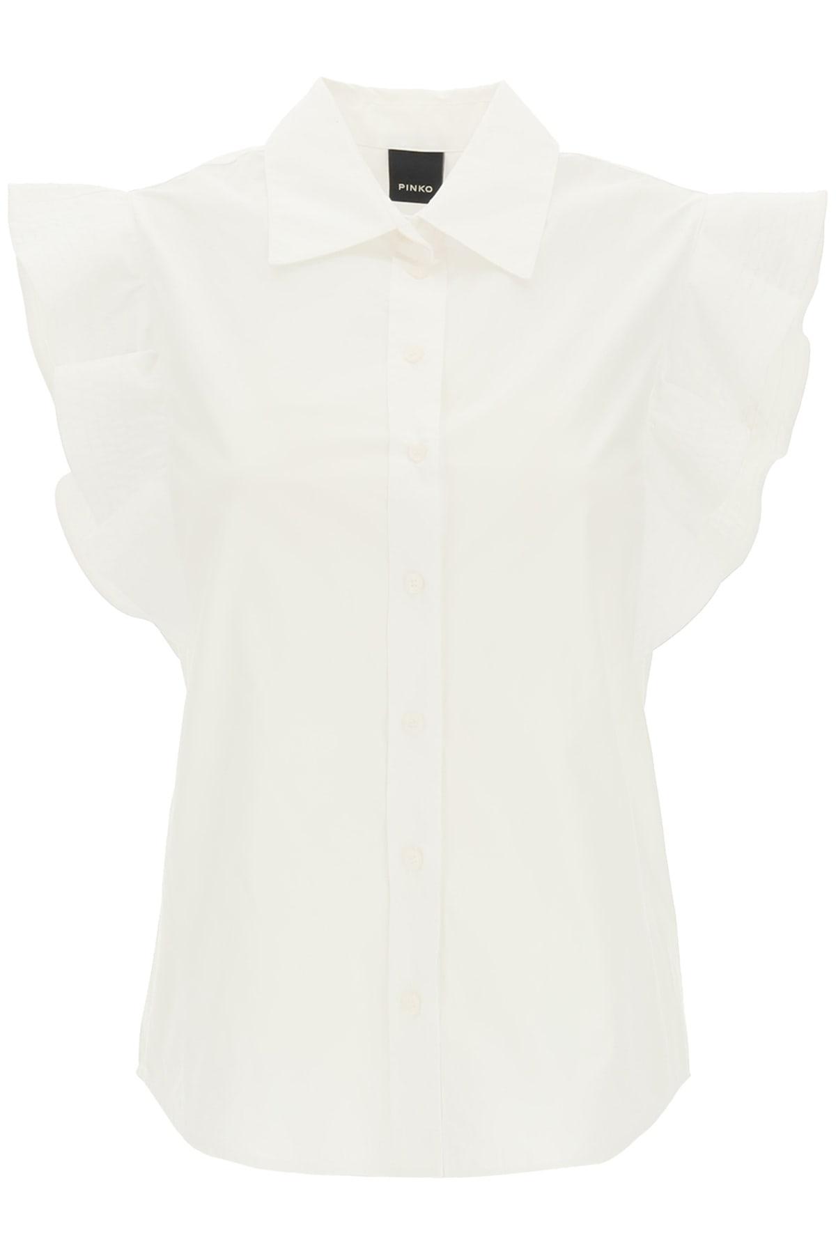 Pinko Nakoma 1 Ruffled Shirt