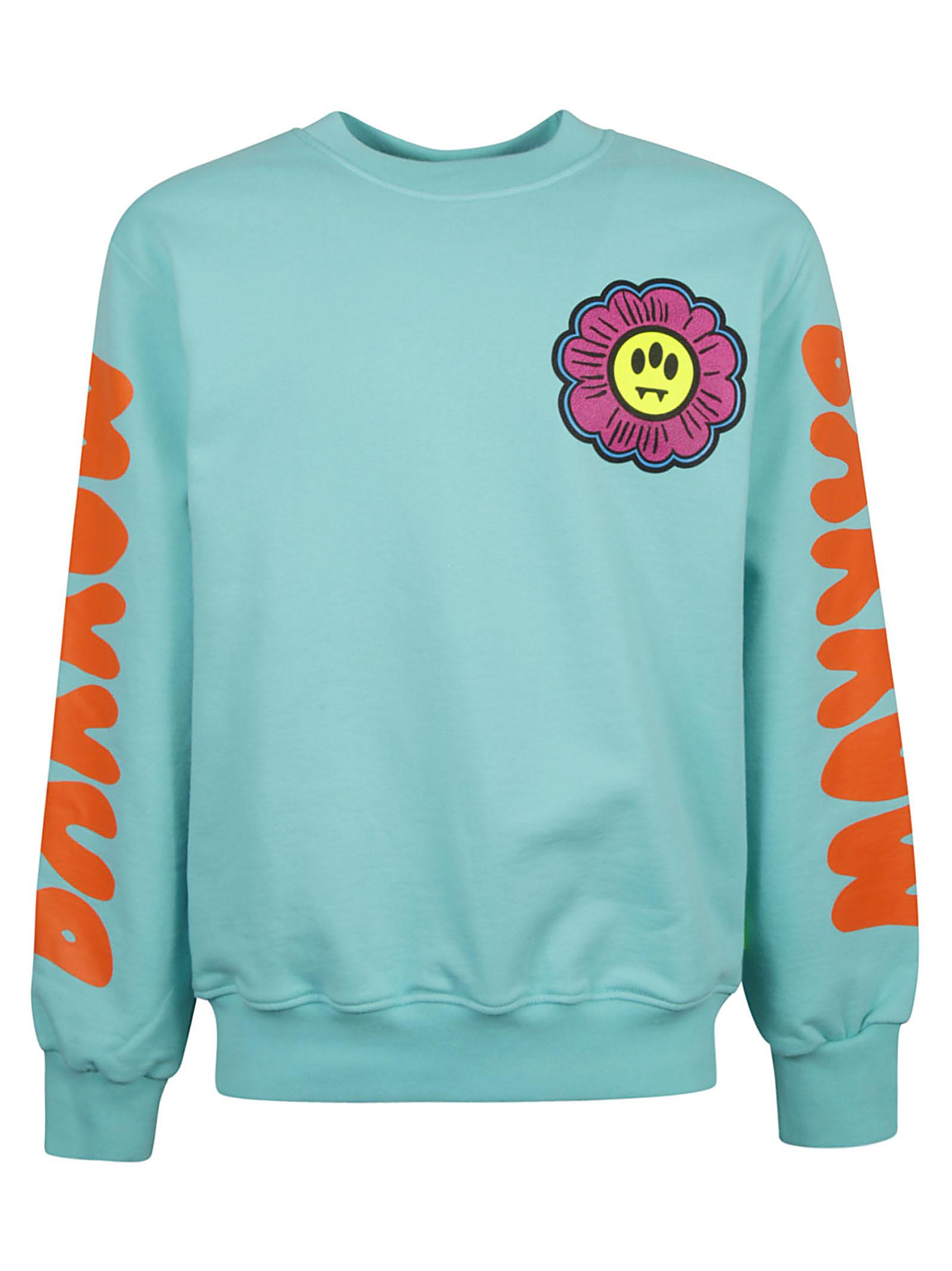 Barrow Sleeve Logo Print Sweatshirt