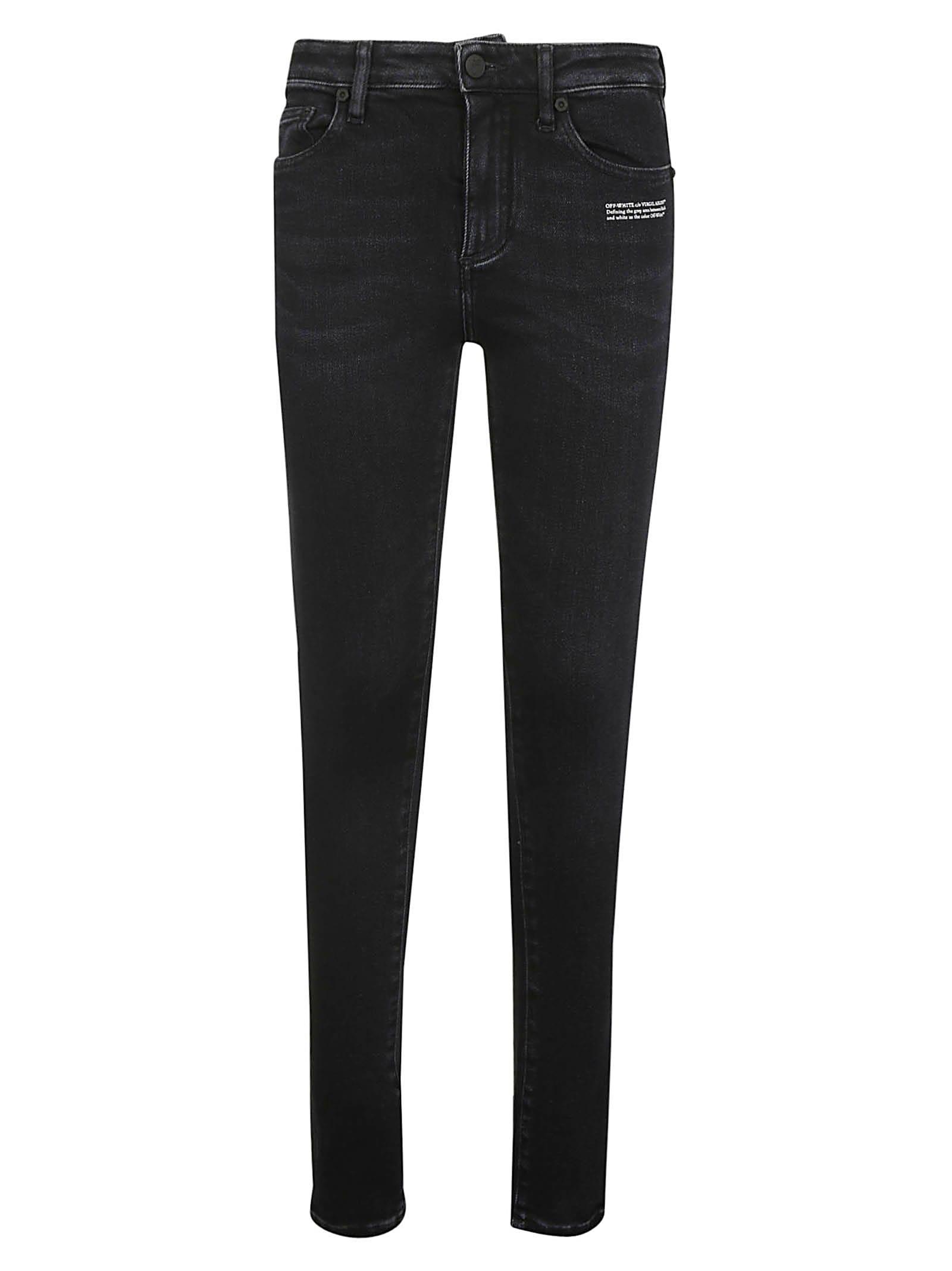 Off-White Denim Skinny Jeans