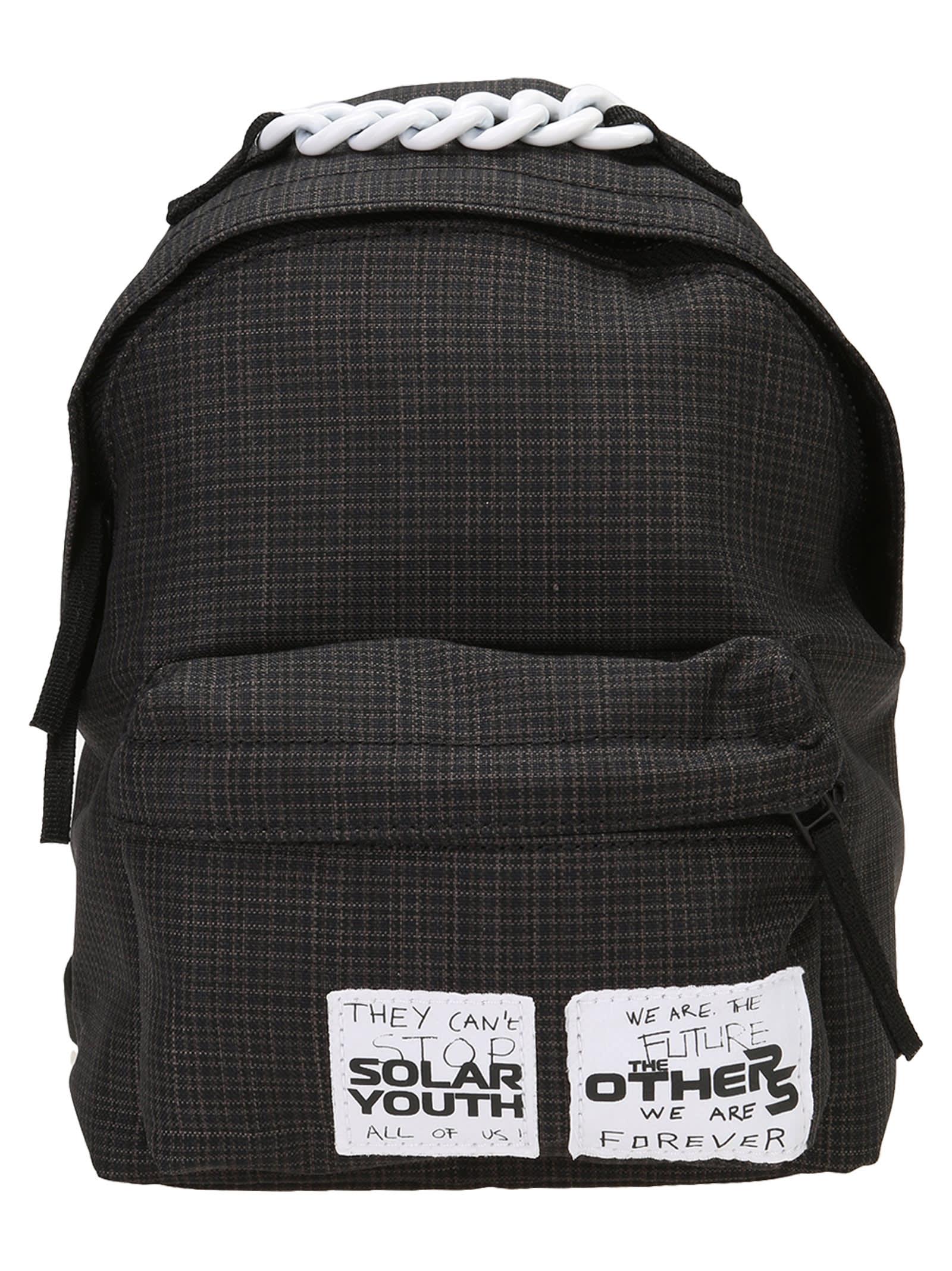 Eastpak By Raf Simons Raf Simons Pakr Xs Small Check Backpack