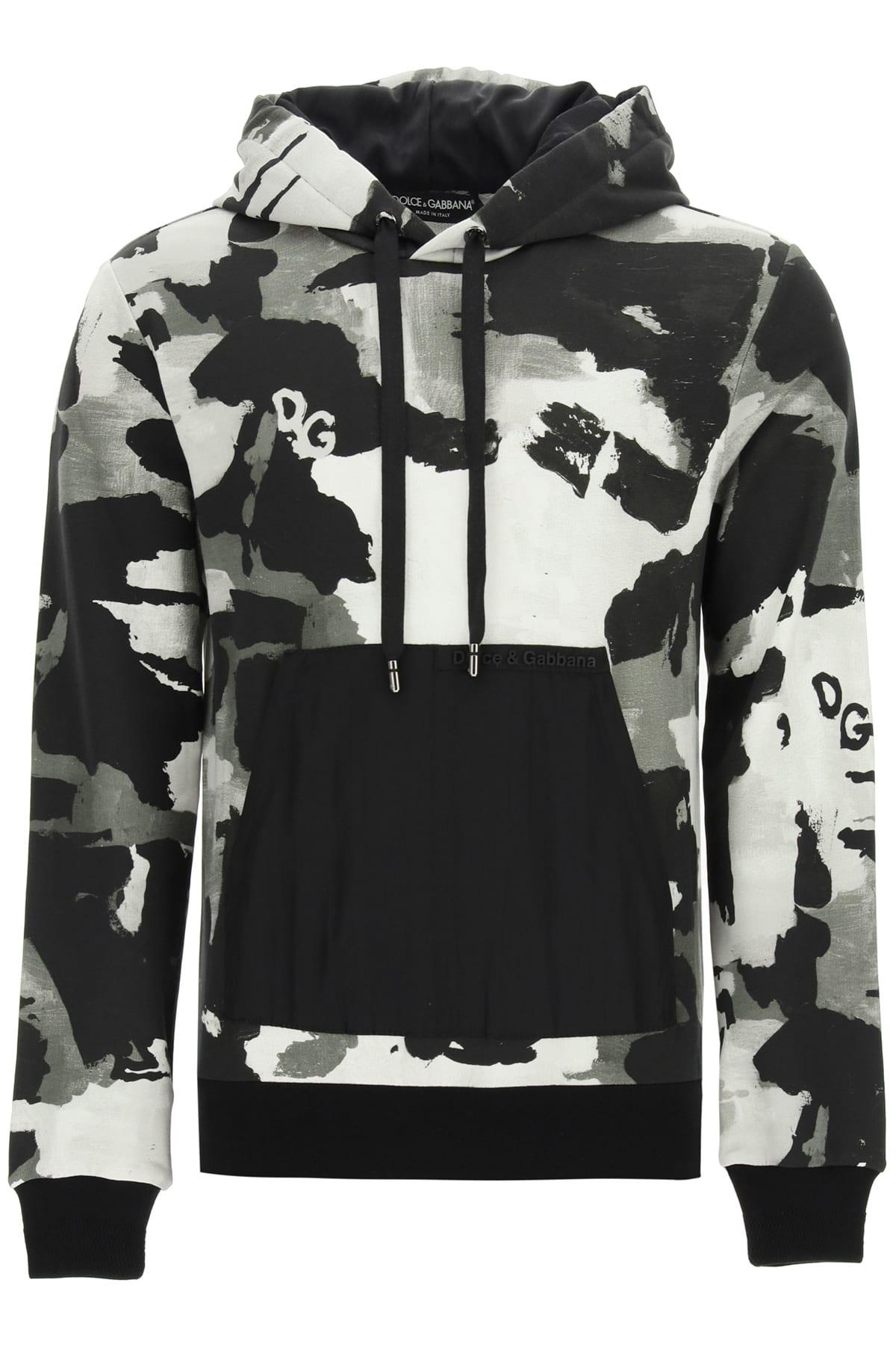 Dolce & Gabbana Camouflage Hoodie