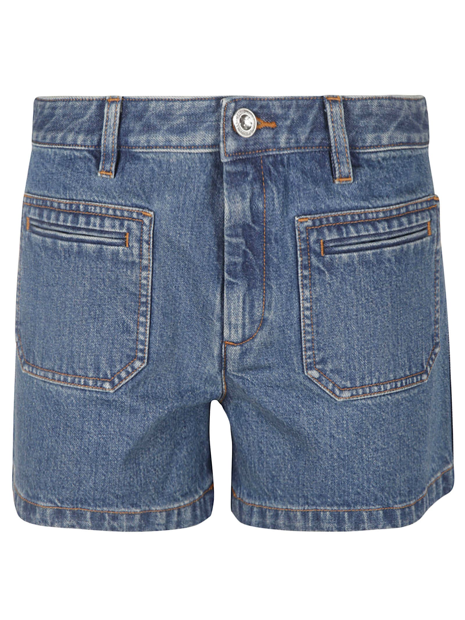 A.P.C. Shanya Denim Shorts