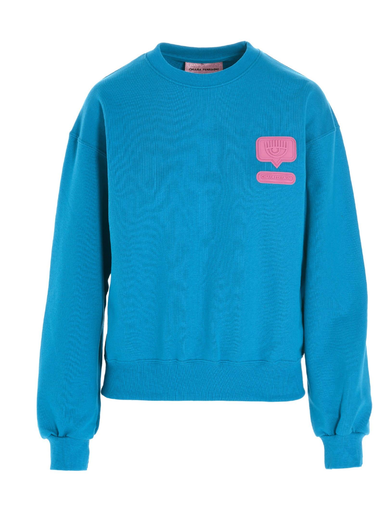 Chiara Ferragni eyelike Sweater