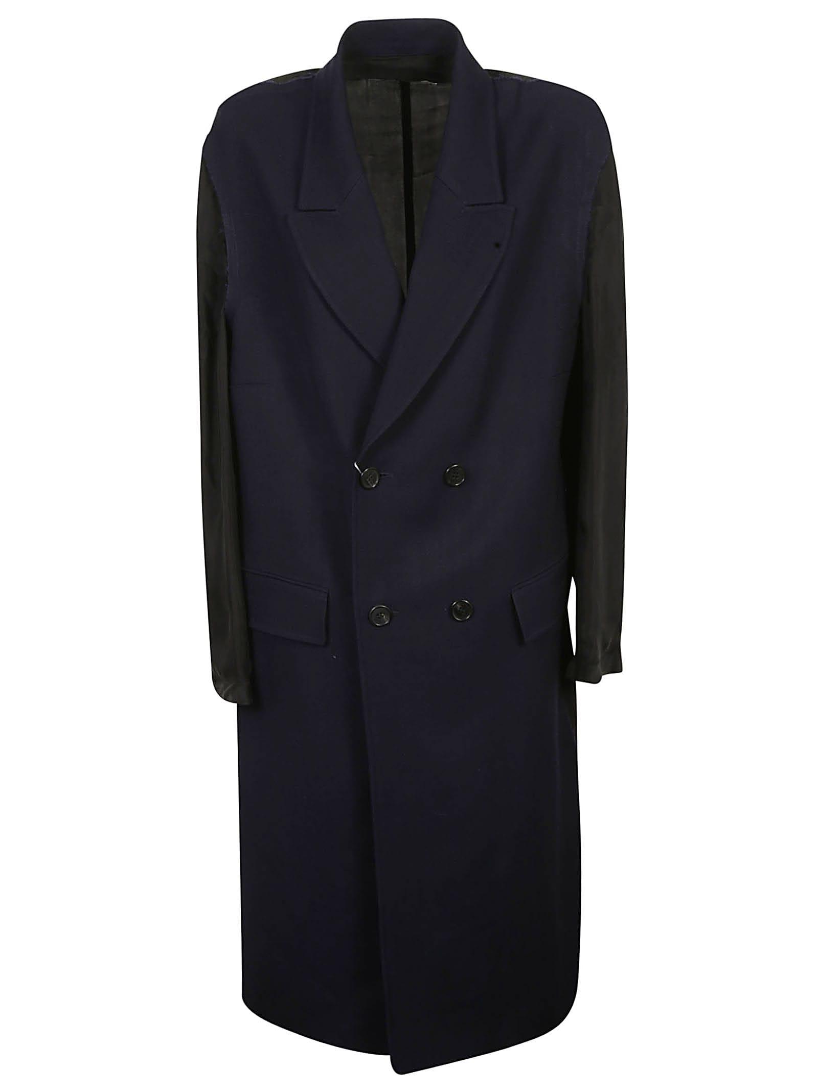 Maison Margiela Double-breasted Long Coat