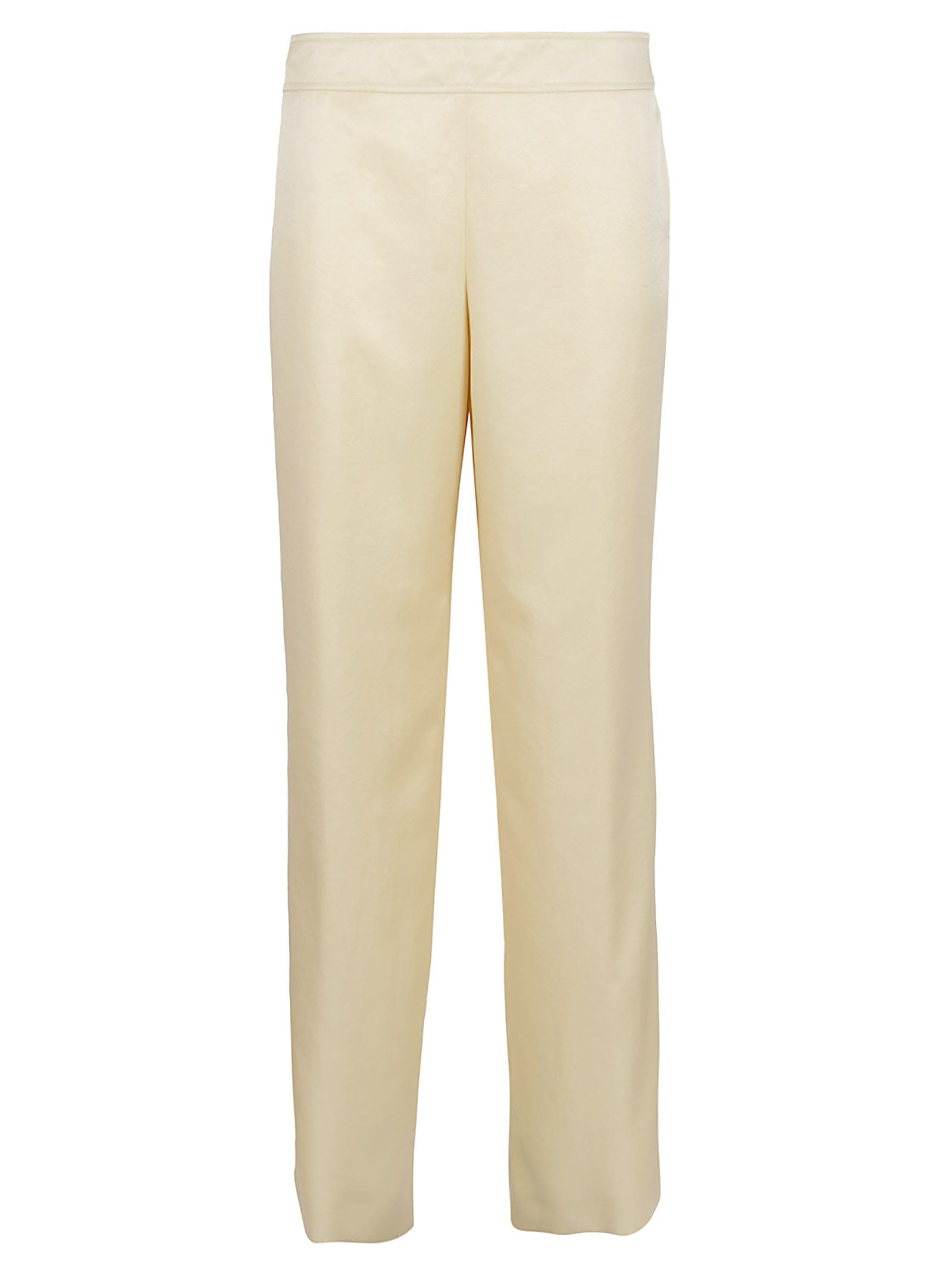 Jil Sander Trouser O 12 Aw 29 - Techno Crinkled Satin