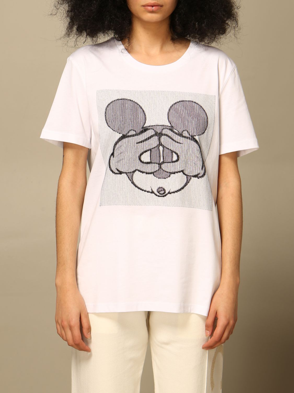 Iceberg T-shirt Iceberg T-shirt With Mickey Mouse