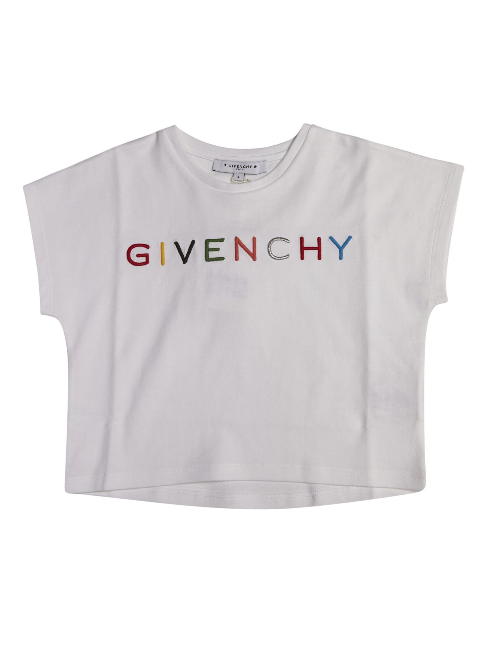 Givenchy Logo Embroidery Oversized T-shirt