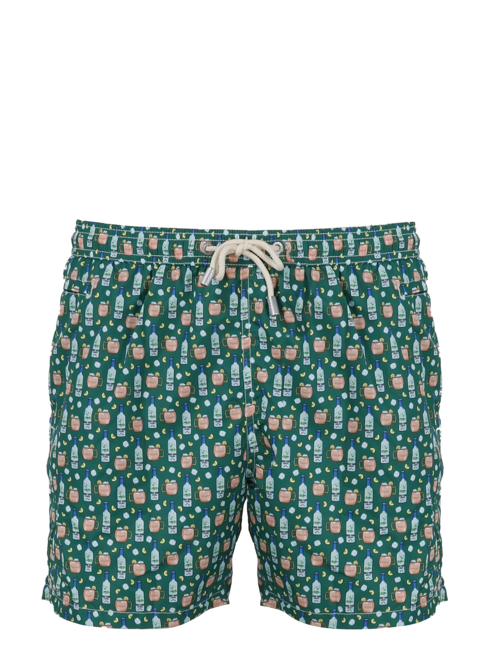 MC2 Saint Barth Microfantasy Print Swimshorts