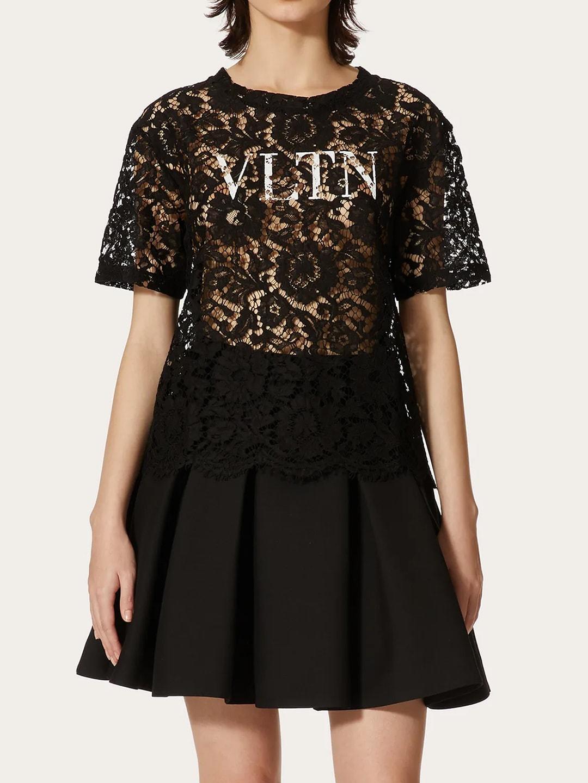 Valentino Lace Vltn T-shirt