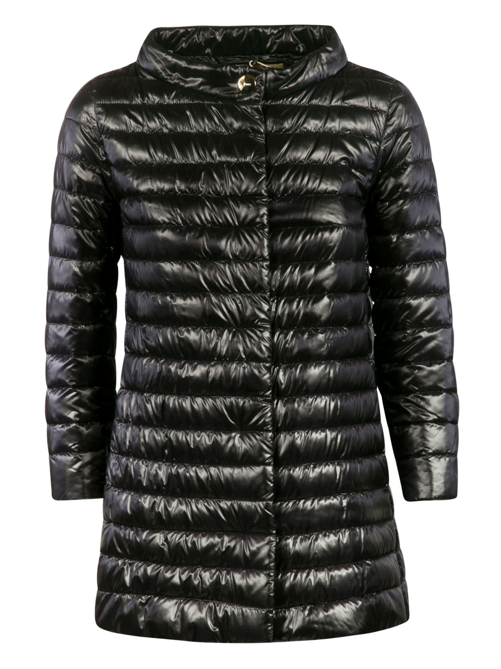 Herno Concealed Button Padded Jacket