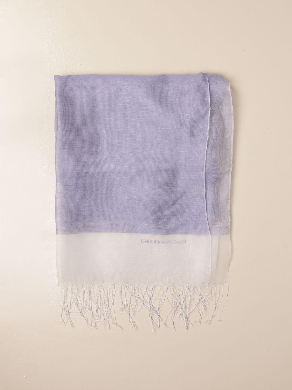 Emporio Armani Scarf Emporio Armani Scarf In Silk Organza