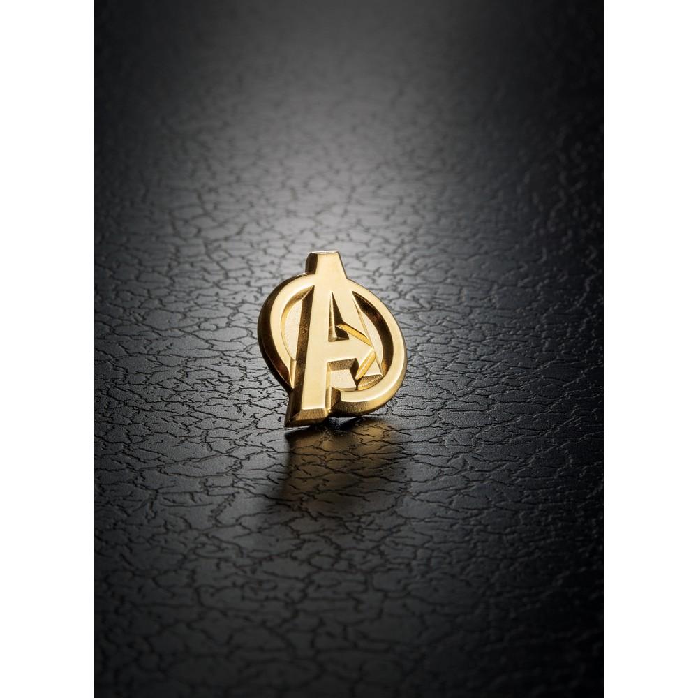 【預購】RS 漫威超級英雄 錫合金圖針 復仇者標誌鍍金款