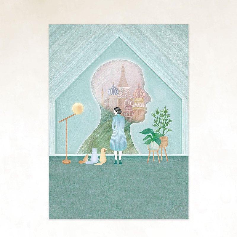 遊紀 ⁄  1月 / 畫卡、複製畫