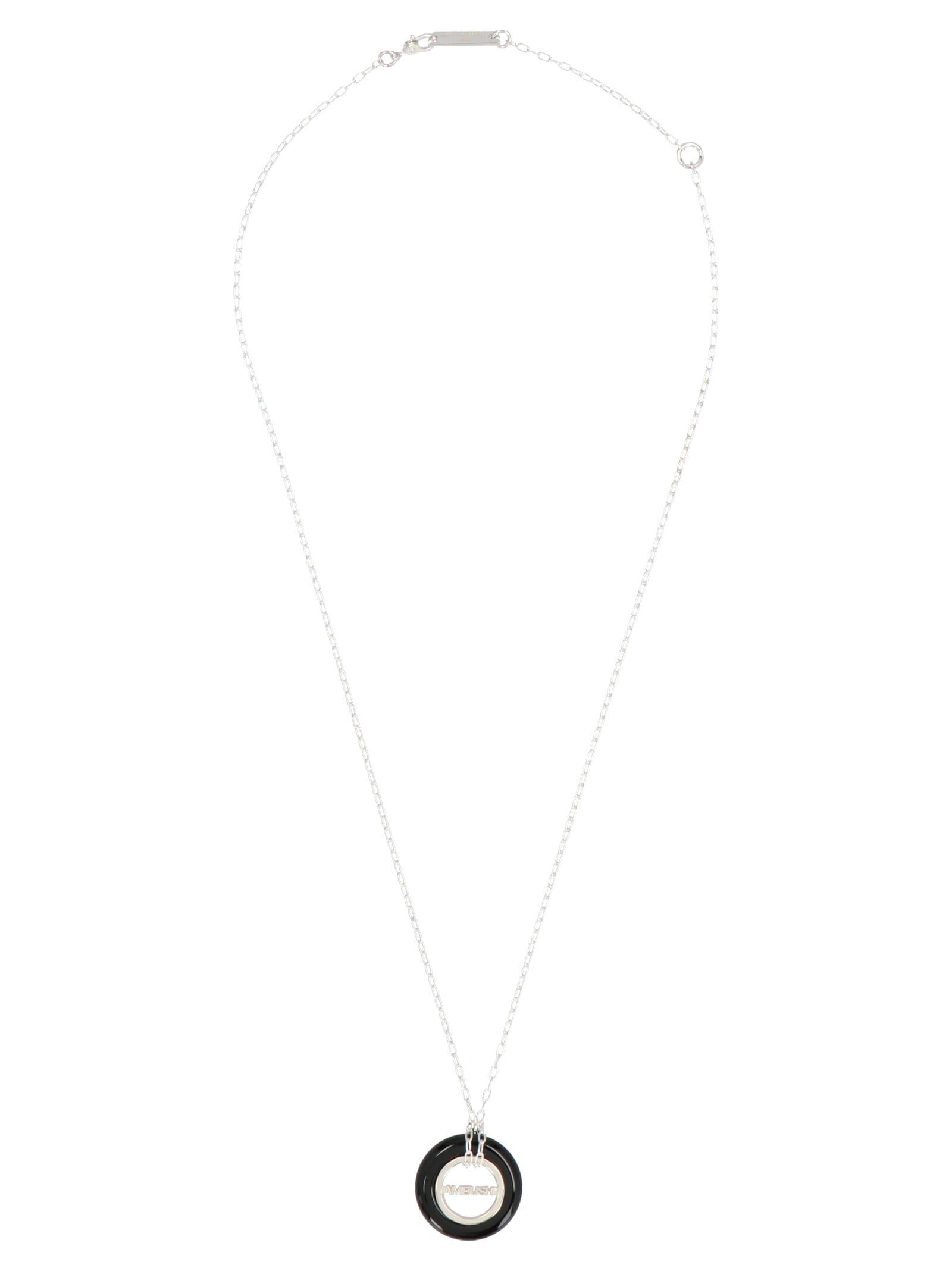 Ambush carved Stones Charm Necklace