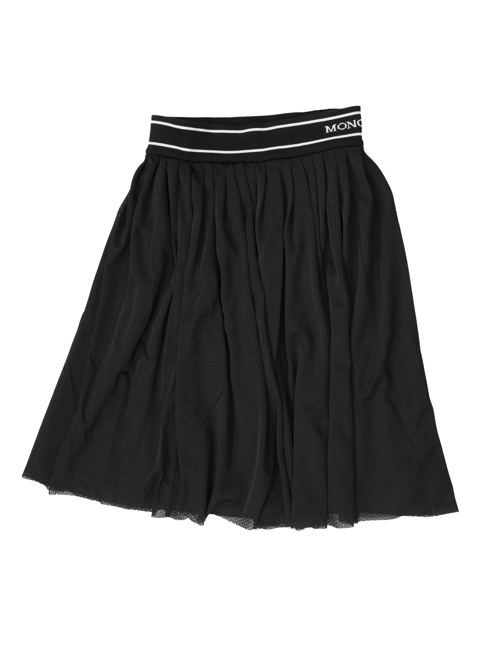 Moncler Pleated Skirt With Elastic