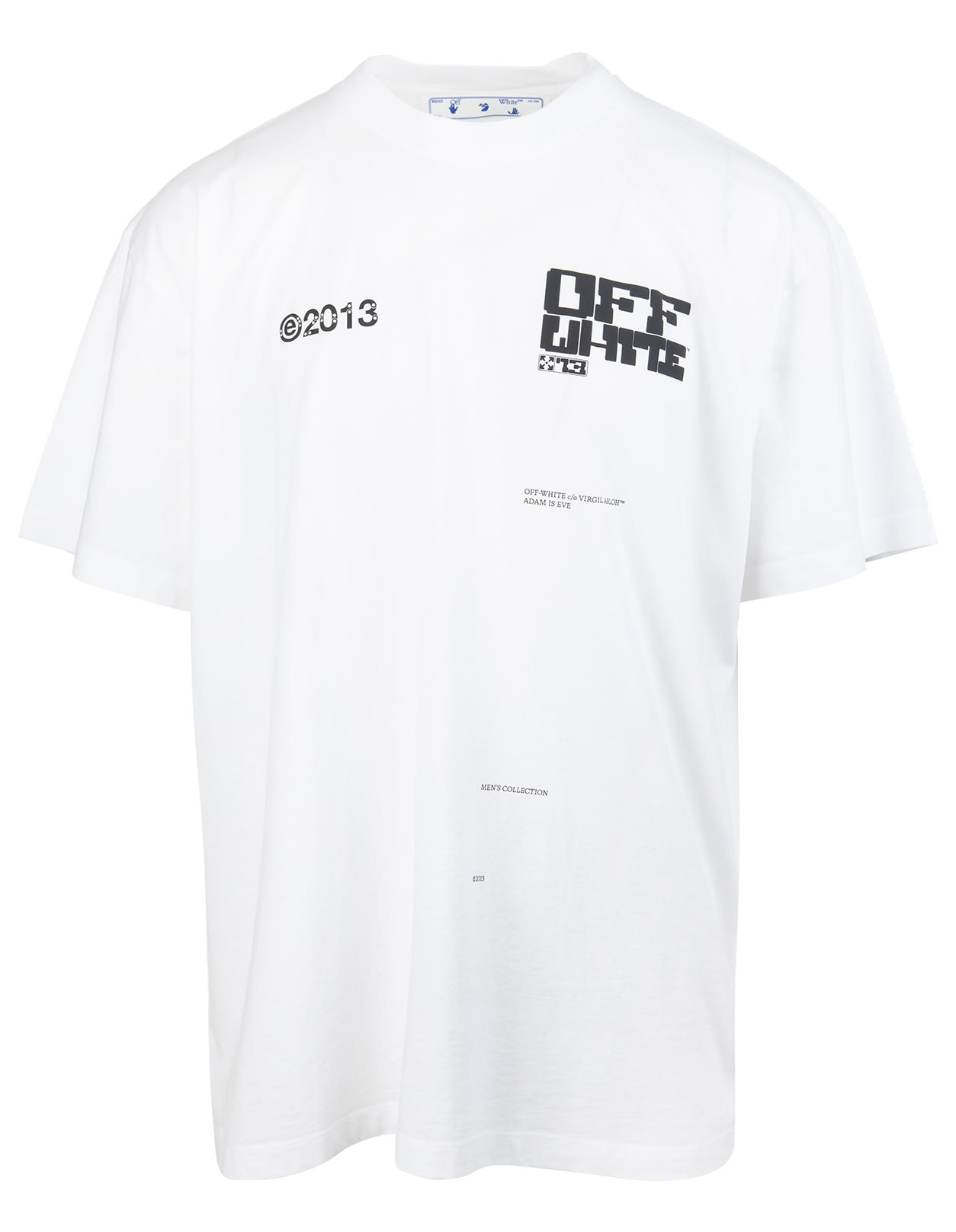 Man White Tech Marker T-shirt