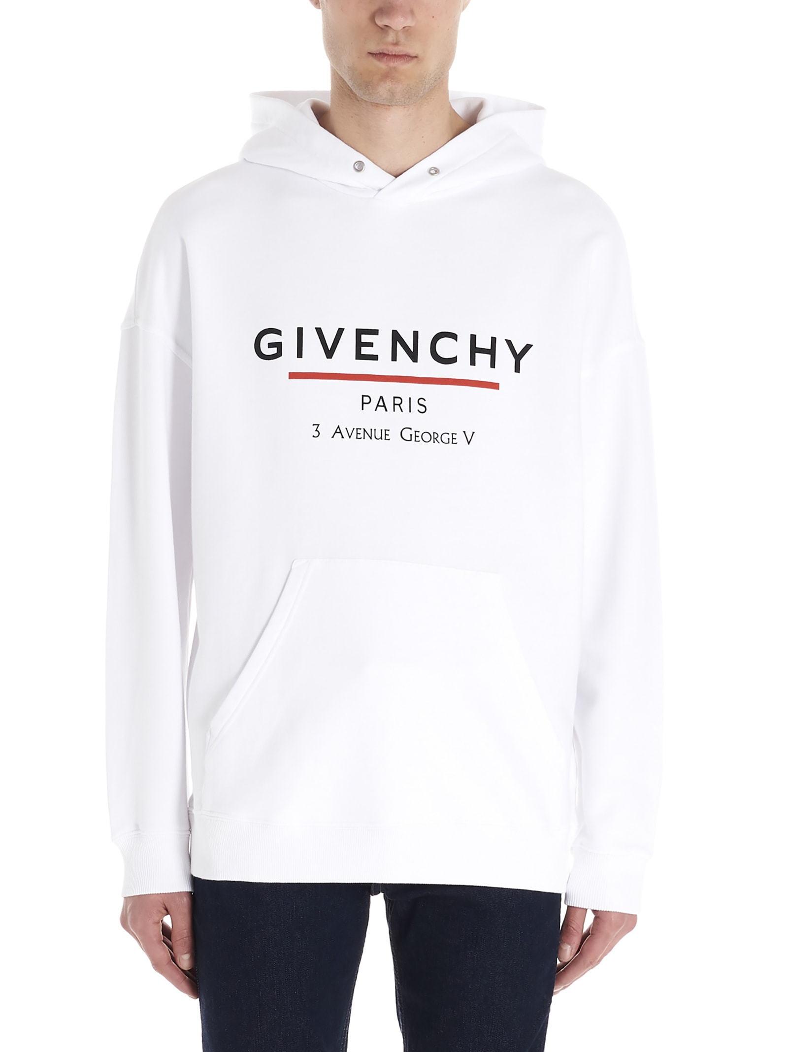 Givenchy Paris Address Hoodie