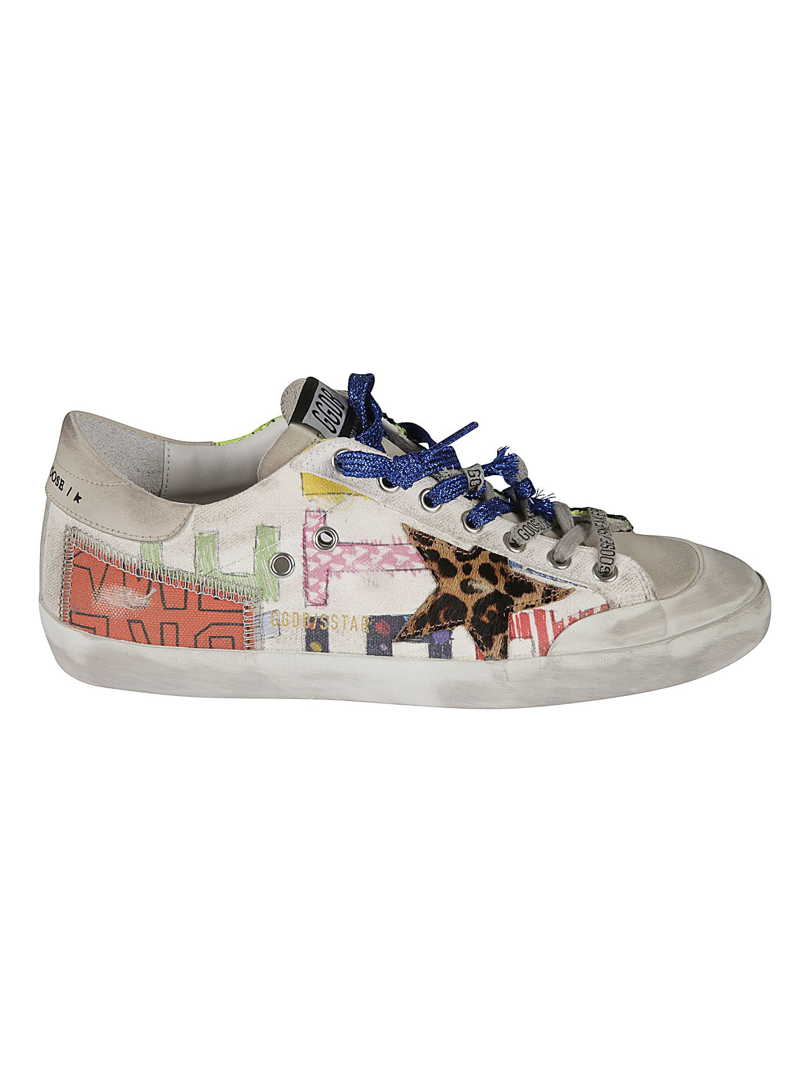 Golden Goose Canvas Upper Restart Sneakers