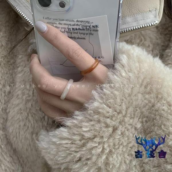 食指戒指女時尚個性氣質簡約百搭關節戒指【古怪舍】