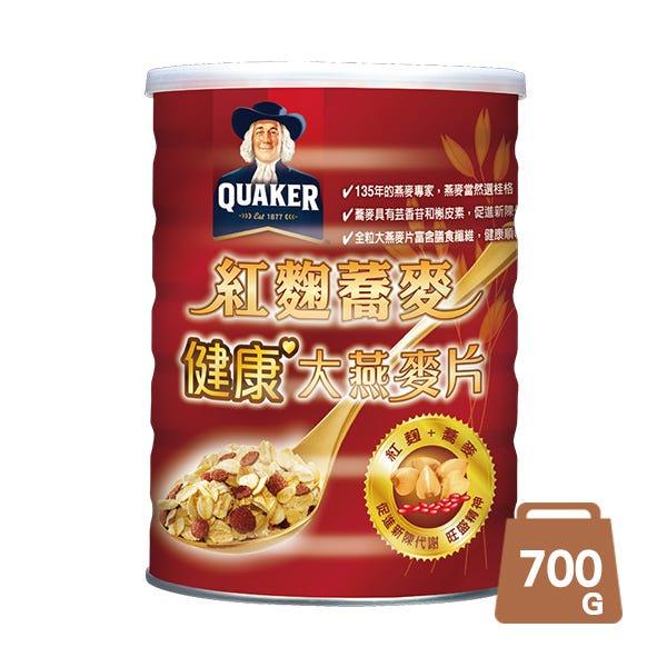 桂格紅麴蕎麥燕麥片700GX1罐