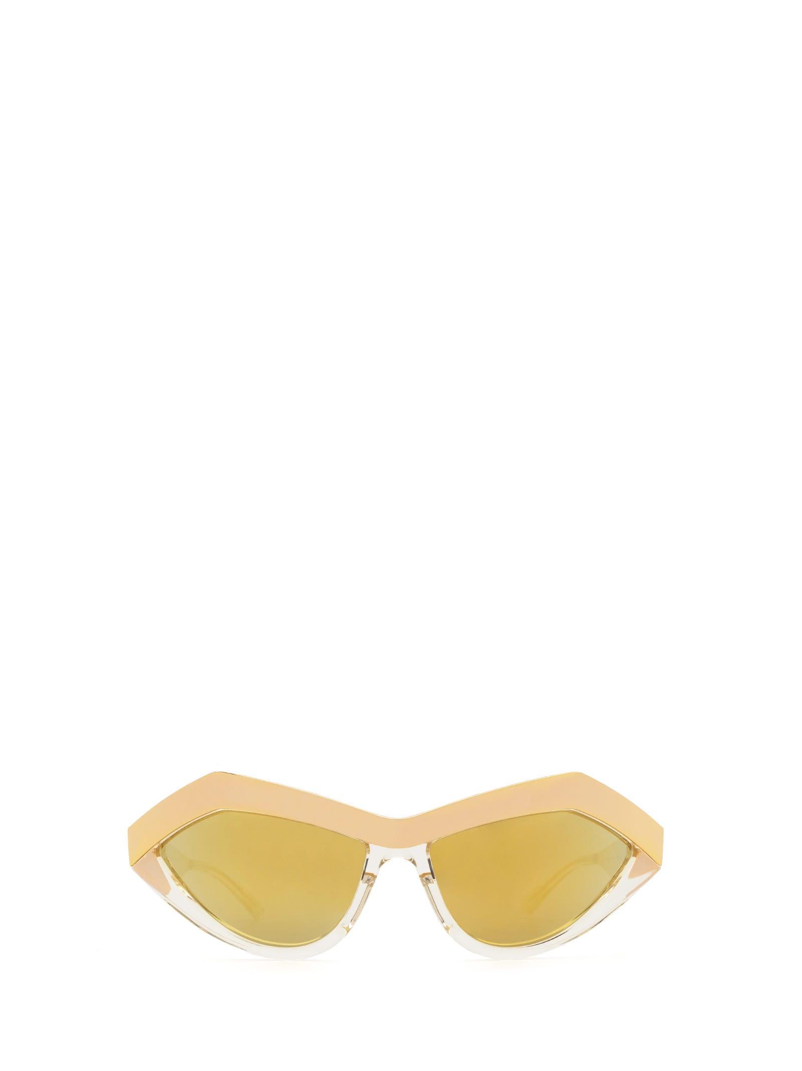 Bottega Veneta Bottega Veneta Bv1055s Gold Sunglasses
