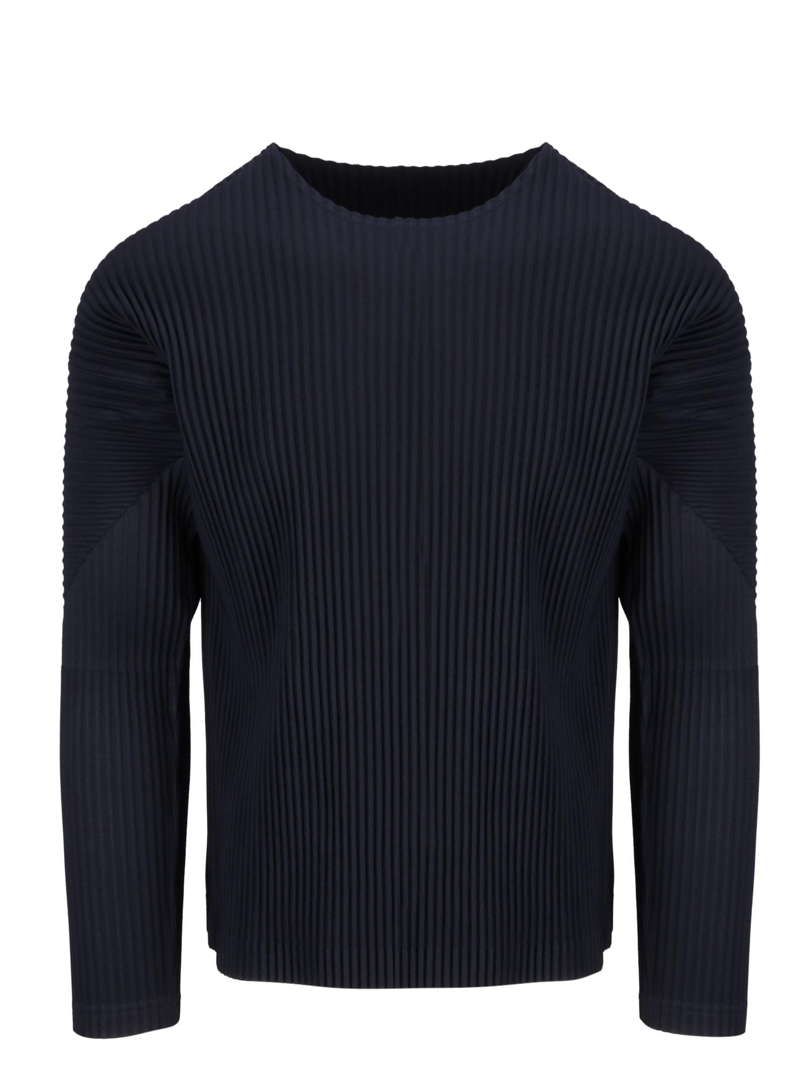 Pleated Sweatshirt