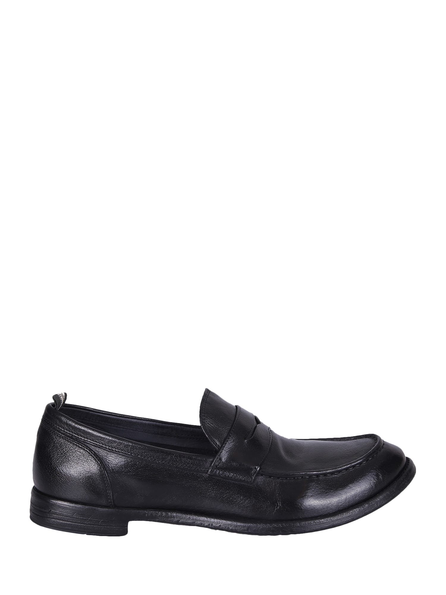 Officine Creative Black Loafers