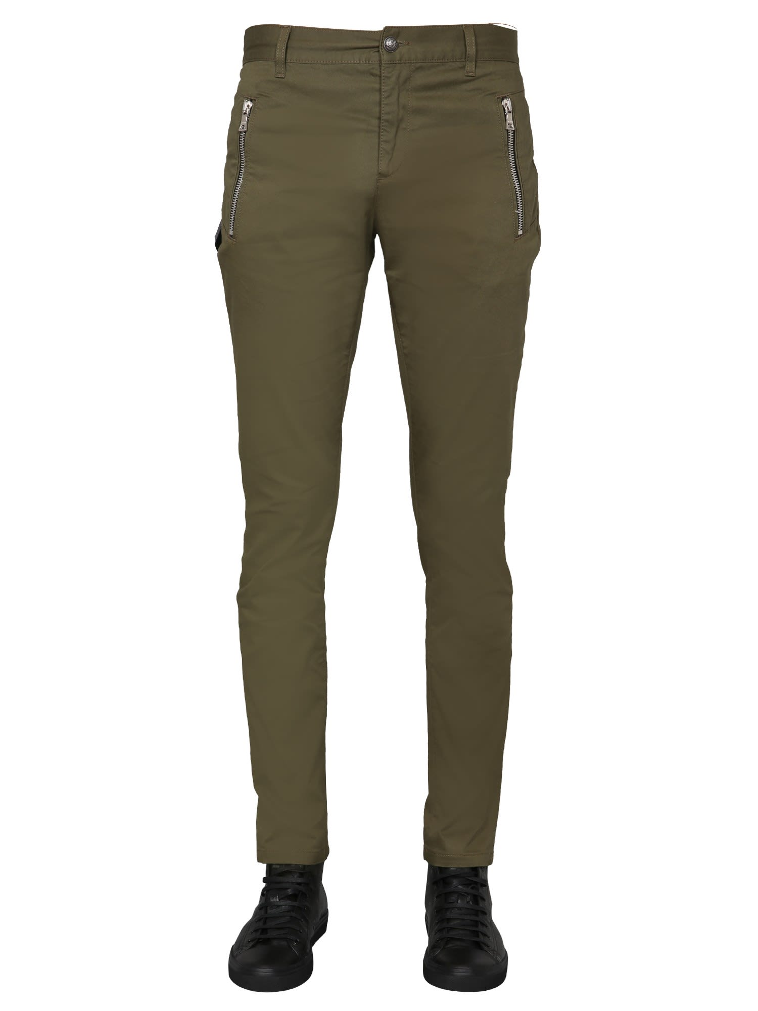 Balmain Pants With Zip