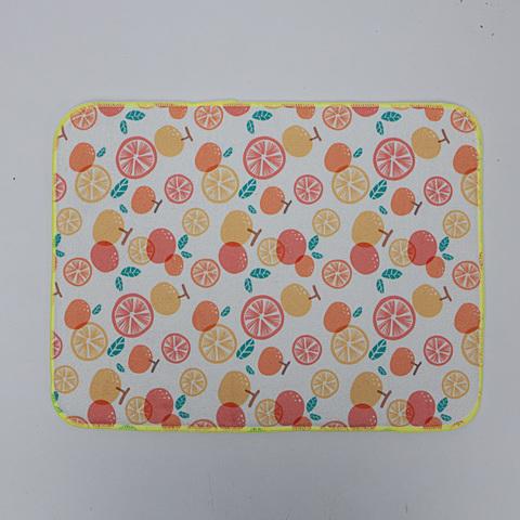 橙甜時刻吸水墊附盤架