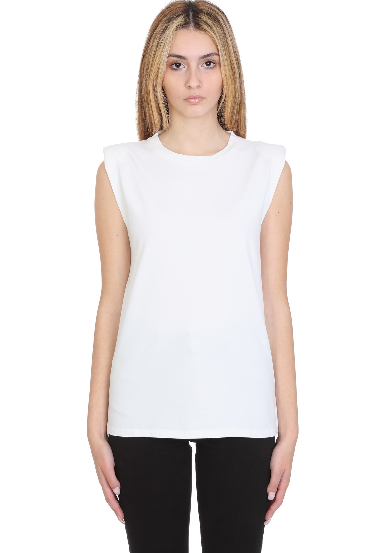IRO Loud Topwear In White Cotton