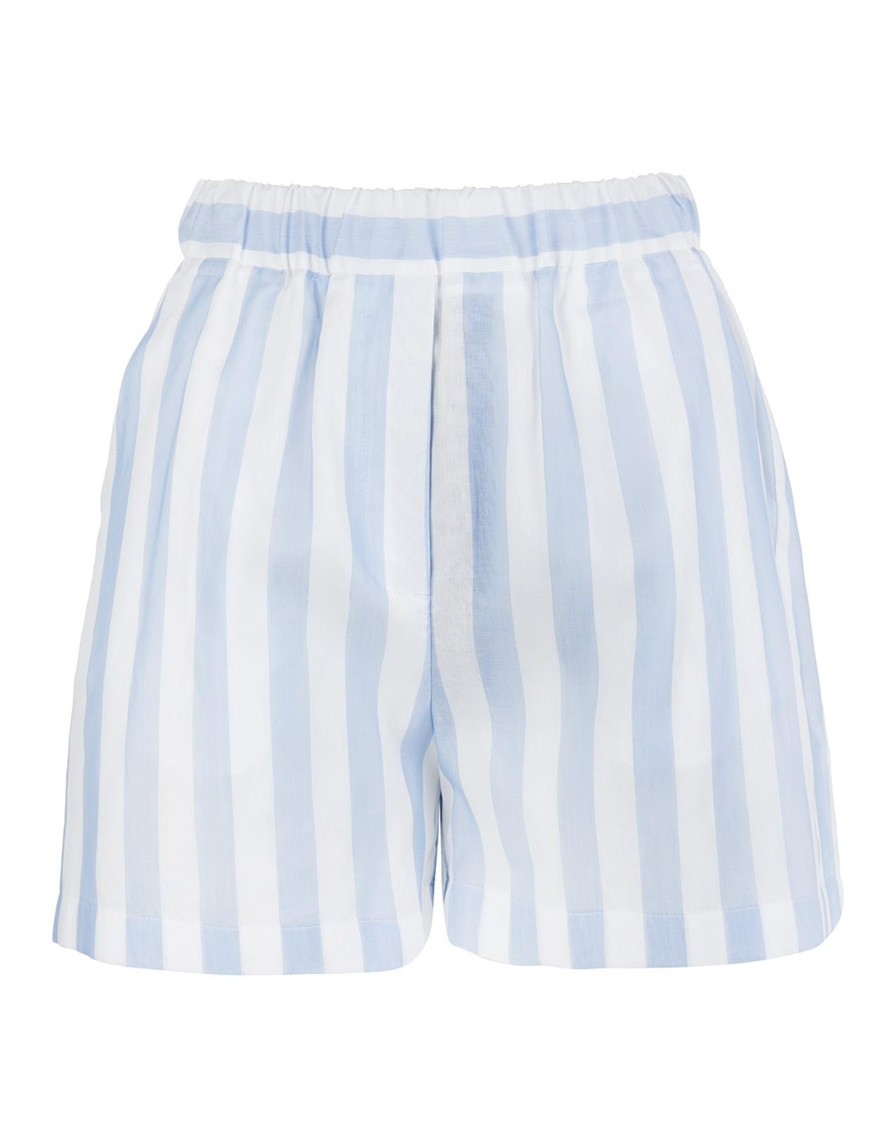 Stripe Pattern Shorts