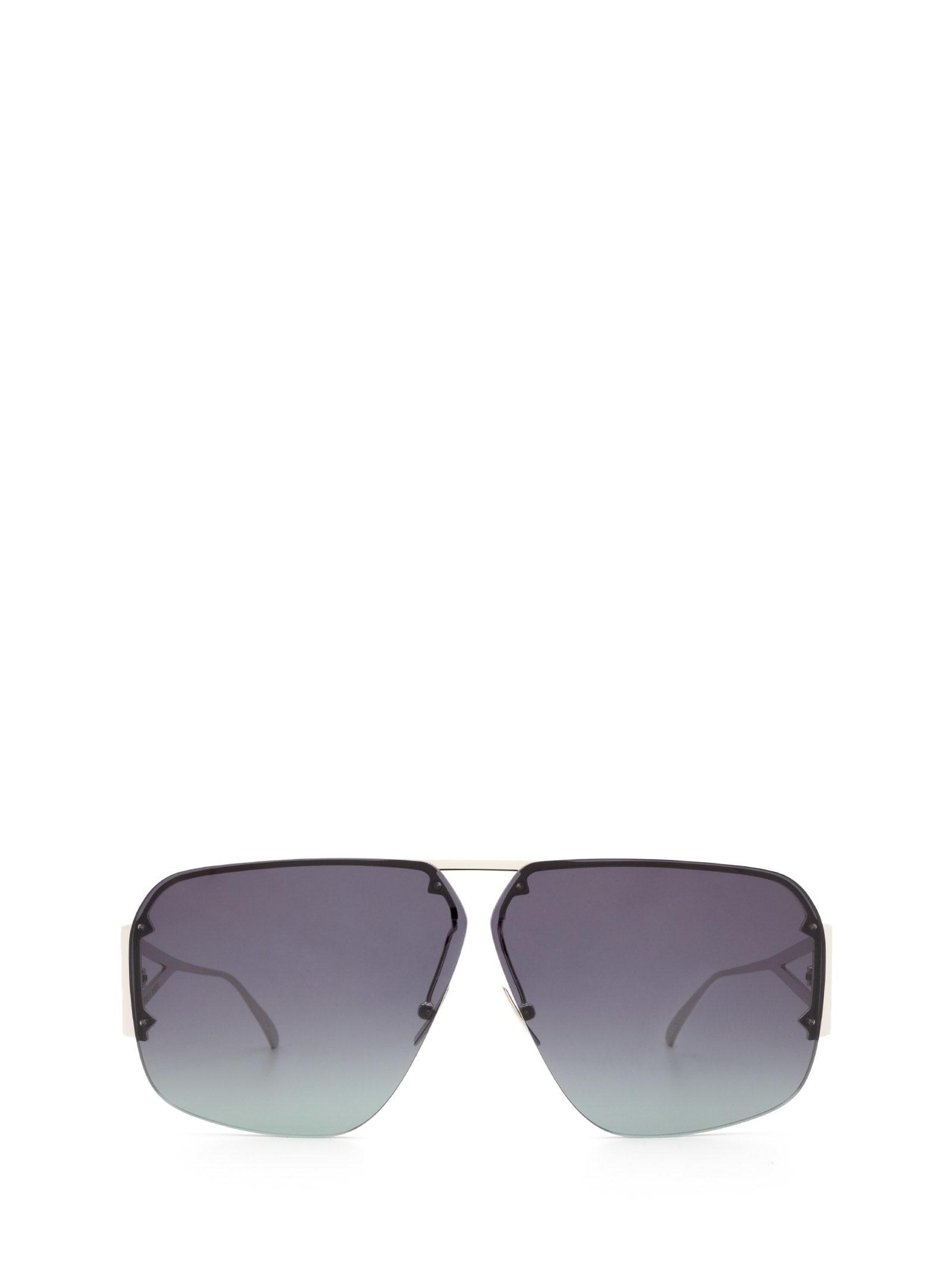 Bottega Veneta Bottega Veneta Bv1065s Silver Sunglasses