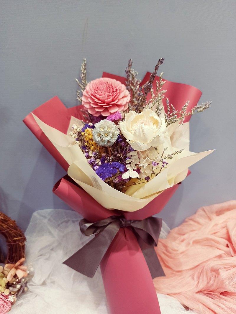 乾燥花束體驗 七夕 情人節 婚禮 佈置 開幕 復古 聖誕節
