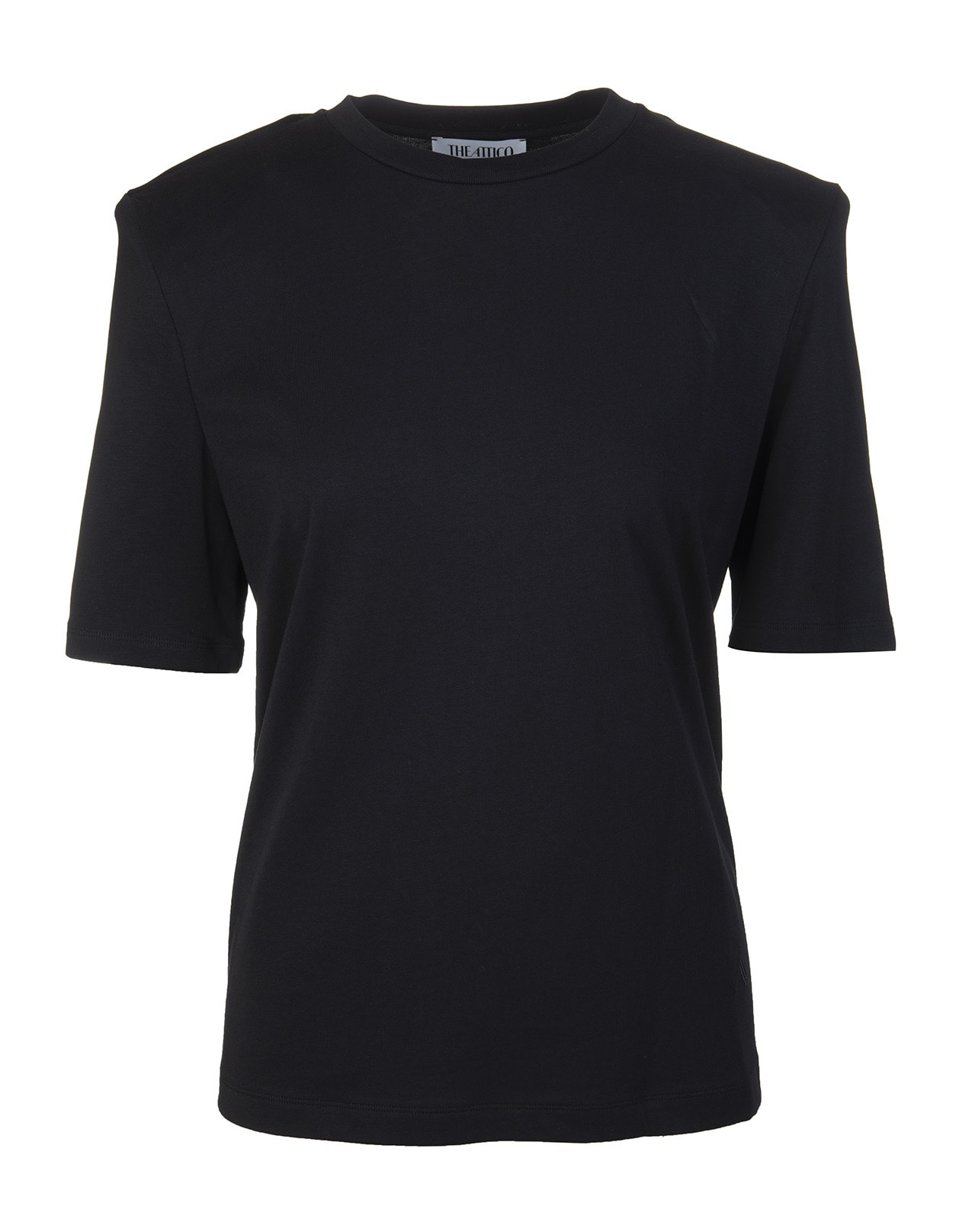T-shirt With Structured Straps