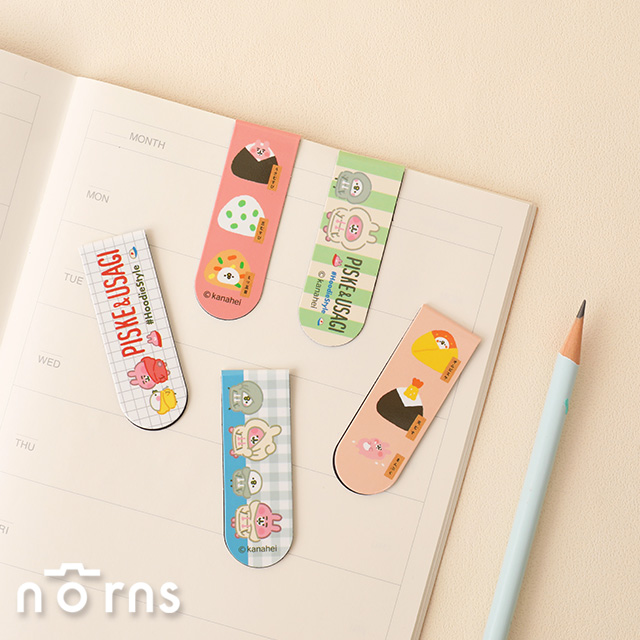 Kanahei磁性書籤2入一組 P2- Norns 正版授權 卡娜赫拉小動物 P助兔兔 文具磁鐵