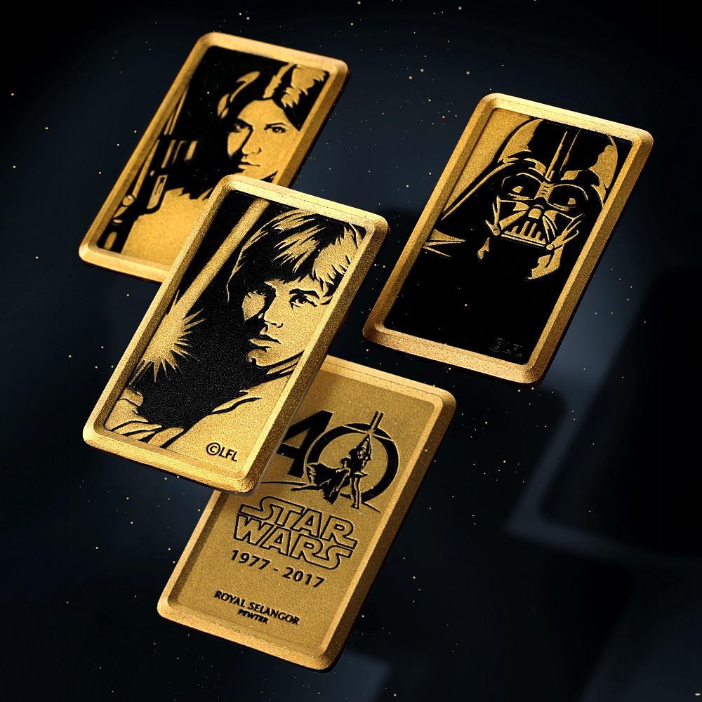 【預購】RS 星際大戰 錫合金紀念幣 限量套裝組