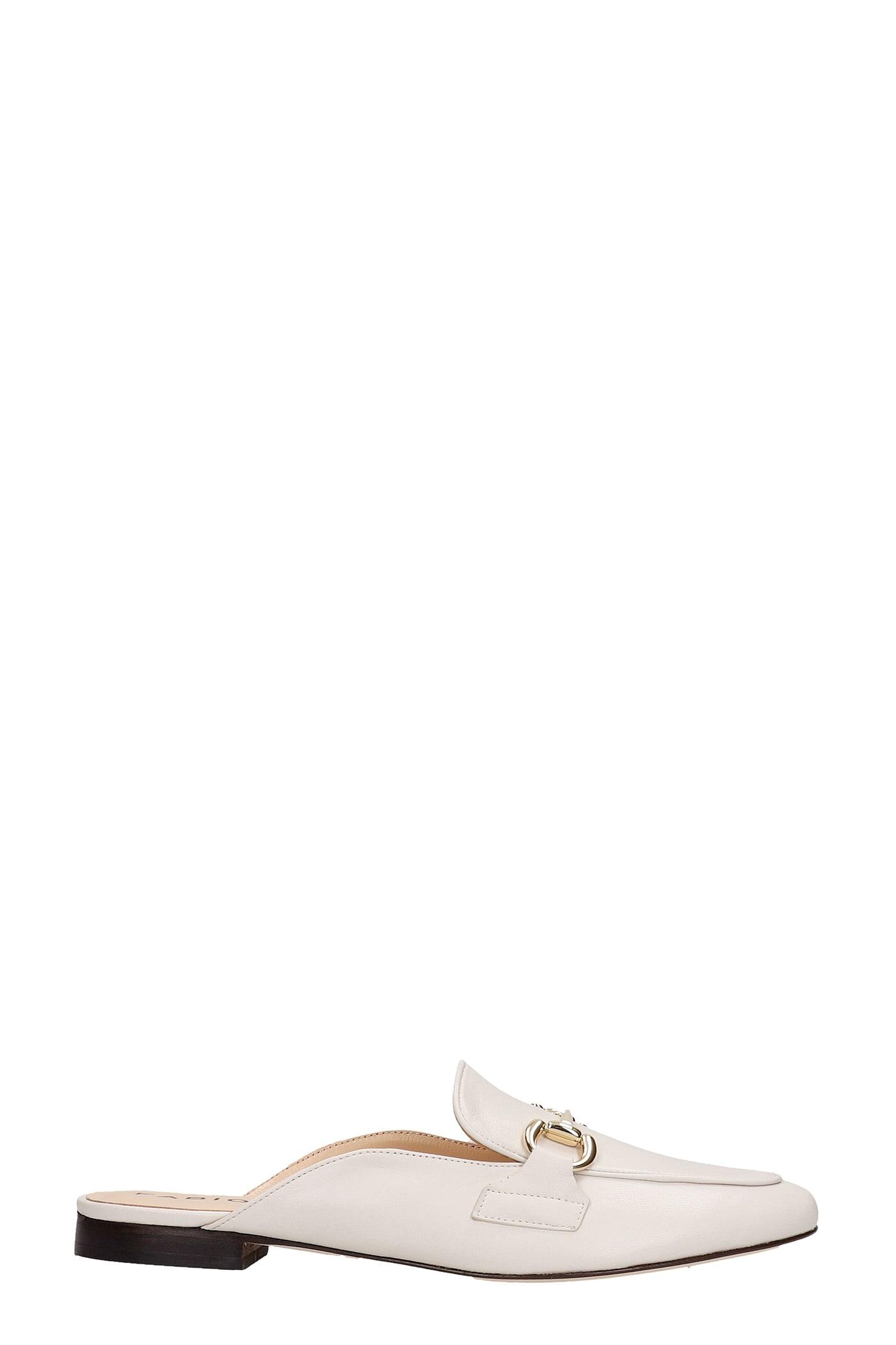 Fabio Rusconi Loafers In Beige Leather