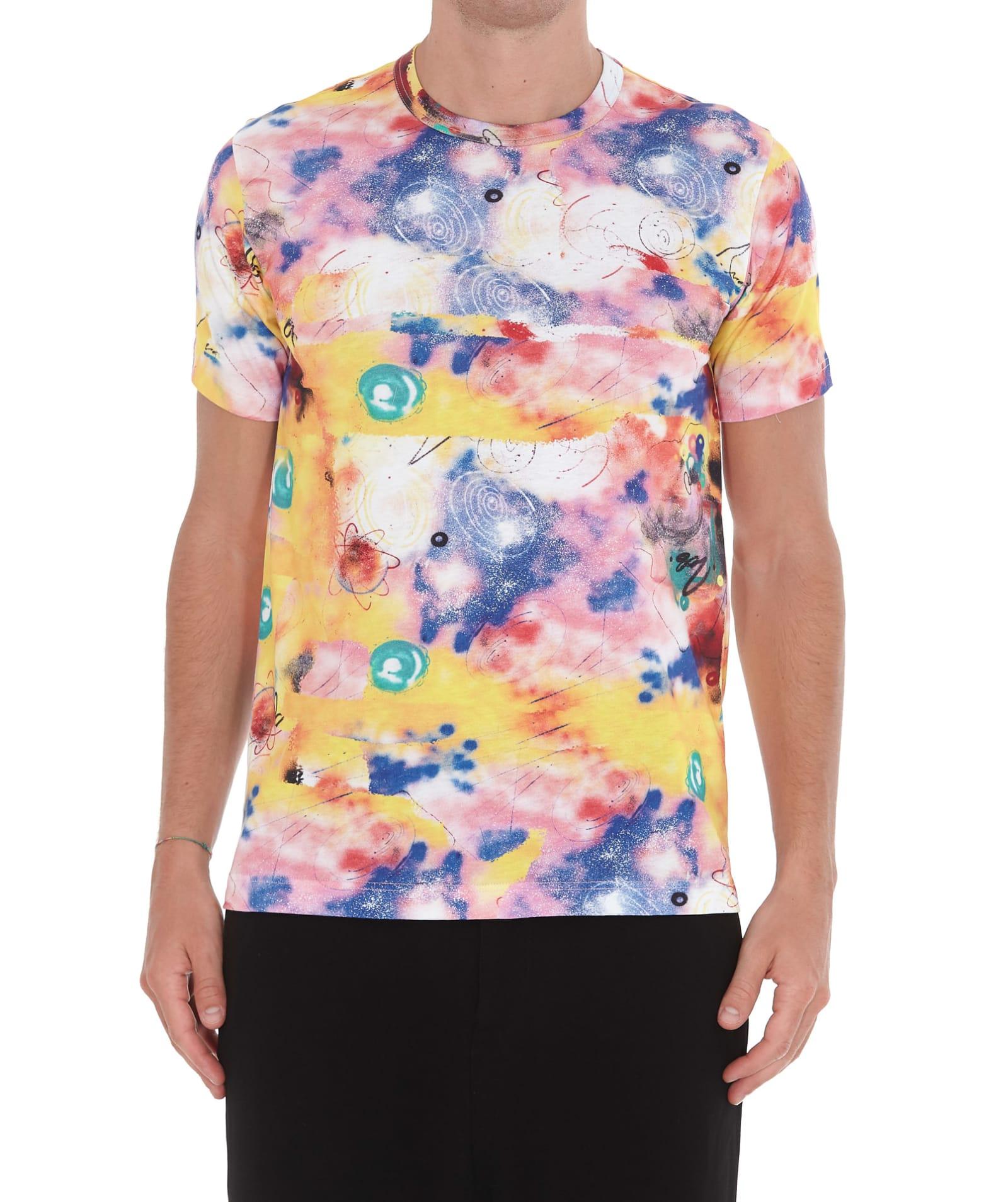 Comme Des Garã§ons Shirt Futura Print T-shirt