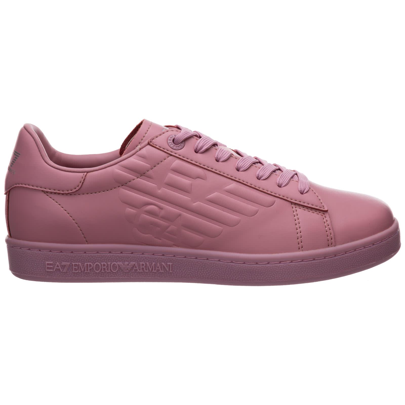 Emporio Armani Ea7 Open Sneakers