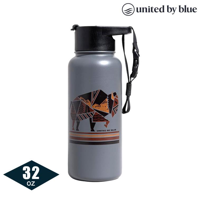 United by Blue 707-277 不鏽鋼保溫瓶 (32oz|945ml) / 灰