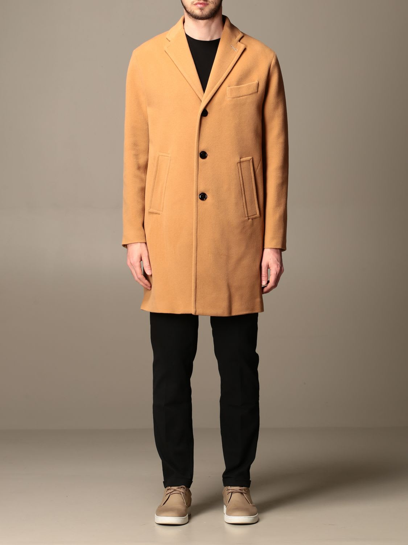 Palto Coat Agostino Paltò Coat In Technical Wool